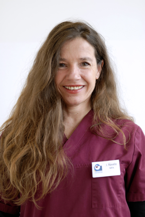 Ines Ravelo, Medizinische Fachangestellte in der Praxis seit 2019