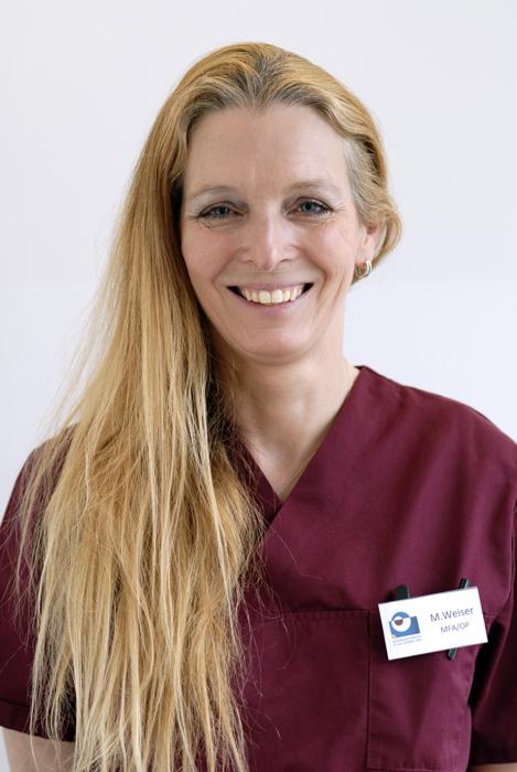 Michaela Weiser, Medizinische Fachangestellte und Sterilgutassistentin